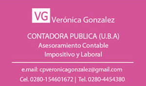 Veronica Gonzalez COntadora Publica